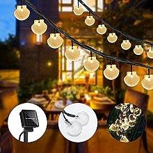 Langray - Shell Solar String Lights, 6M / 19.7FT,