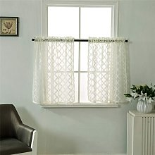 LangRay Short Curtains Small Windows Short Country