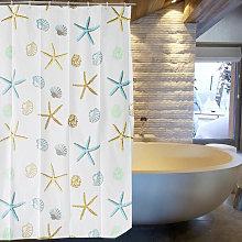 Langray - Shower Curtain, Elegant PEVA Bathroom