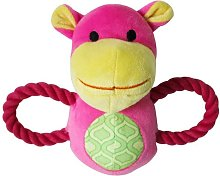 LangRay Squeaky Squeaky Dog Toys with 2 Handles