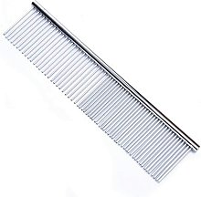 LangRay Steel Pet Comb with Rounded Stainless