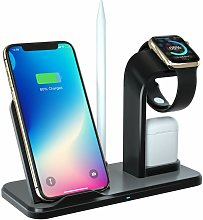 Langray - Wireless charger, Qi Fast 3 in 1 10W
