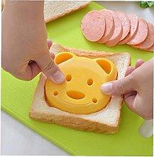 Lankater Kids Bear Sandwich and Bread Press Cutter