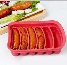 Lankater Making Mold, Food Grade Silicone Hot Dog