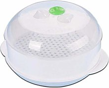 Lankater Plastic Round Steamer Microwave Vegetable