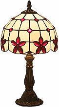 LANMOU E27 Tiffany Table Lamps Vintage Nightstand