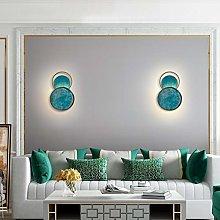 LANMOU Modern Decorative LED Wall Lamp Round