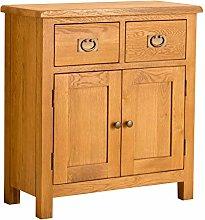 Lanner Oak Mini Sideboard Cabinet   Traditional
