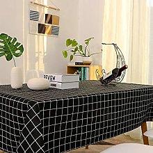 Lanqinglv Cotton Linen Tablecloth 100x140cm