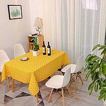 Lanqinglv Cotton Linen Tablecloth 120x180cm