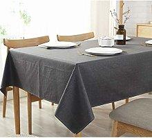 Lanqinglv Plain Table Cloth Square 130x130cm,Small
