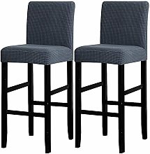 LANSHENG Bar Chair Stool Covers, Stretch Removable