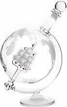 Lantelme Cognac glass whisky carafe with globe