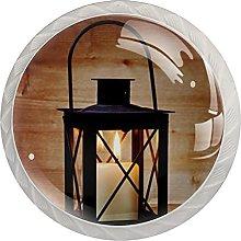 Lantern with a Candle Tree, Modern Minimalist