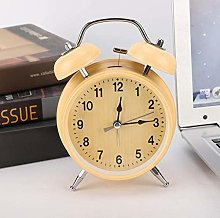 Lantro JS Alarm Clock, Wind-Up Mute with Night