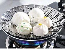 Lanzi 1pcs Food Steamer Basket, Vegetable Fruit