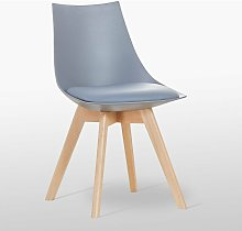 Lanzo Retro Chair - Plastic Shell   Curved Seat  
