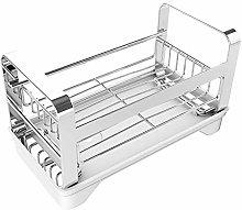 LAOBAN Kitchen Stainless Steel Sink Drain Rack,
