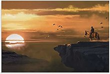 laoya Red Dead Redemption 2 Canvas Art Poster and