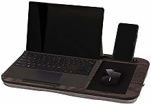 Lap Desk Home Office Laptop Desk with Device Edge,