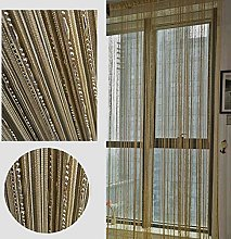 LAPOPNUT Beaded String Hanging Curtain with Dew