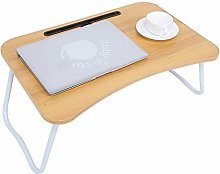 Laptop Bed Desk, Folding Portable Standing Table