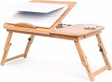 Laptop Bed Table, Folding Lap Standing Desk