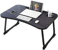 Laptop Bed Table, Portable Lap Desk Foldable Dorm