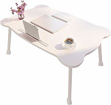 Laptop Bed Table, Portable Lap Desk Notebook Stand