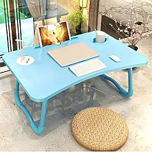 Laptop Bed Tray Table, Foldable Lap Desk Stand,