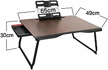 Laptop Bed Tray Table, Folding Table Heightening