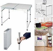 Laptop Computer Folding Table Desk Side Table for