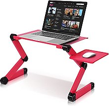 Laptop Desk Height Adjustable Laptop Table