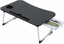Laptop Desk with Drawer, Portable Bed Tray Table