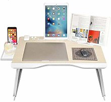 Laptop Stand, Adjustable Laptop Bed Table Lap