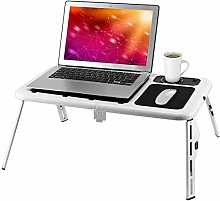 Laptop Table, Adjustable Laptop Stand, Bed