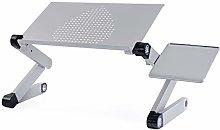 Laptop Table Desk with Cooling Pad, Lap Laptop