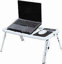Laptop Table Foldable Notebook Desk PC Stand Desk