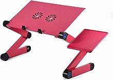 Laptop Table Folding Aluminum Computer Desk