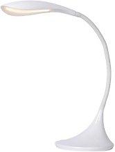 Lara Burol 38cm Desk Lamp Lucide Colour: White