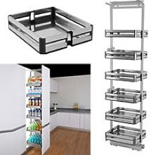 Larder Pull Out Wide Plate Basket Kitchen Cabinet