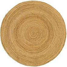 Large 200cmx200cm Round Circular Jute Circle rug