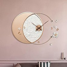 Large 3D DIY Wall Clock, Modern Design Creative