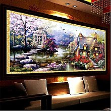 Large 5D Diamond Painting Full Drill Kits for