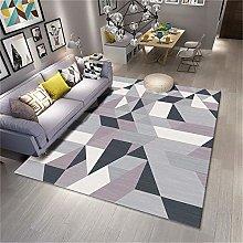 Large Bathroom Rug Simple style geometric pattern
