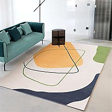 large bathroom rug Yellow carpet, office seat pad