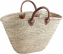 Large Beach Bag French Style Market Shopping