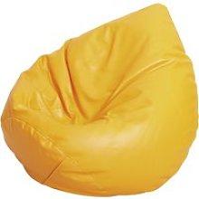 Large Beanbag, Orange, Free Standard Delivery