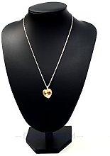 Large Black Leatherette Necklace Display Bust 28cm