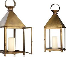 Large candle lantern Brunico